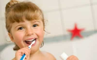My child still has his baby teeth; does he need to take care of them anyway?